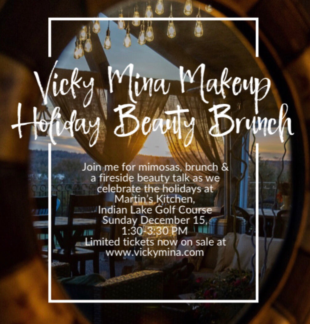 Holiday Beauty Brunch with Vicky Mina