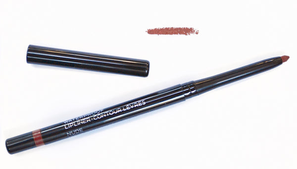 Retractable Waterproof Lip Pencil - Nude