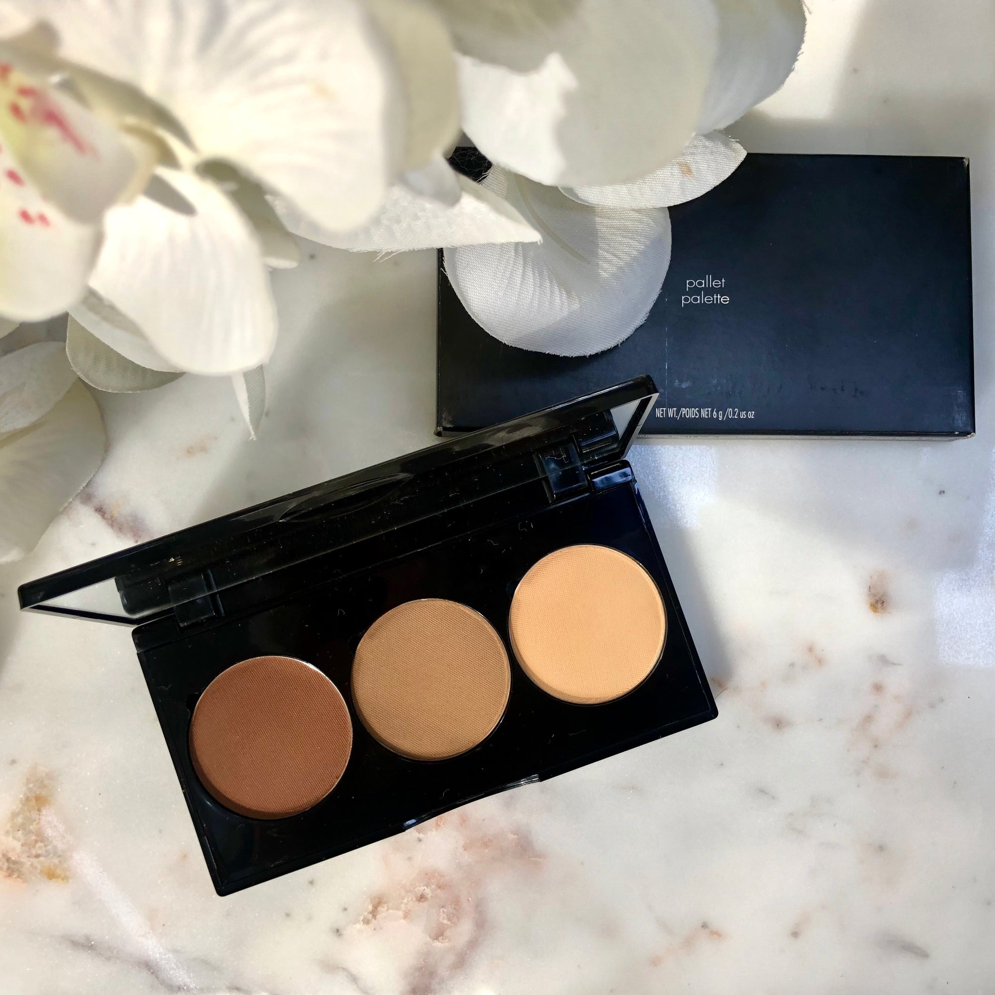 Sculpted Contour Powder Palette - Deep/Dark