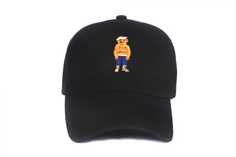 PAC Bear Strapback in Black