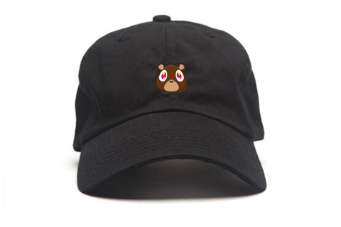 Ye Bear Strapback in Black