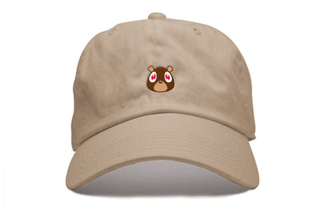 Ye Bear Strapback in Tan
