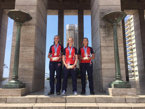 Louisa Piper, Thea Rogers and Alyssia Tromans-Ansell stunning success