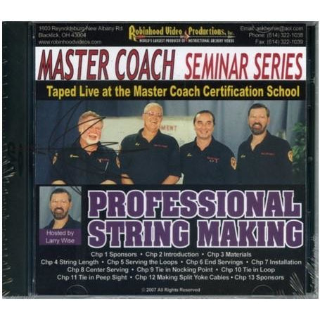 Master Coach Seminar Series String Making DVD