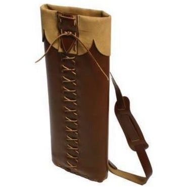 Longshot Traditional Leather Back Quiver