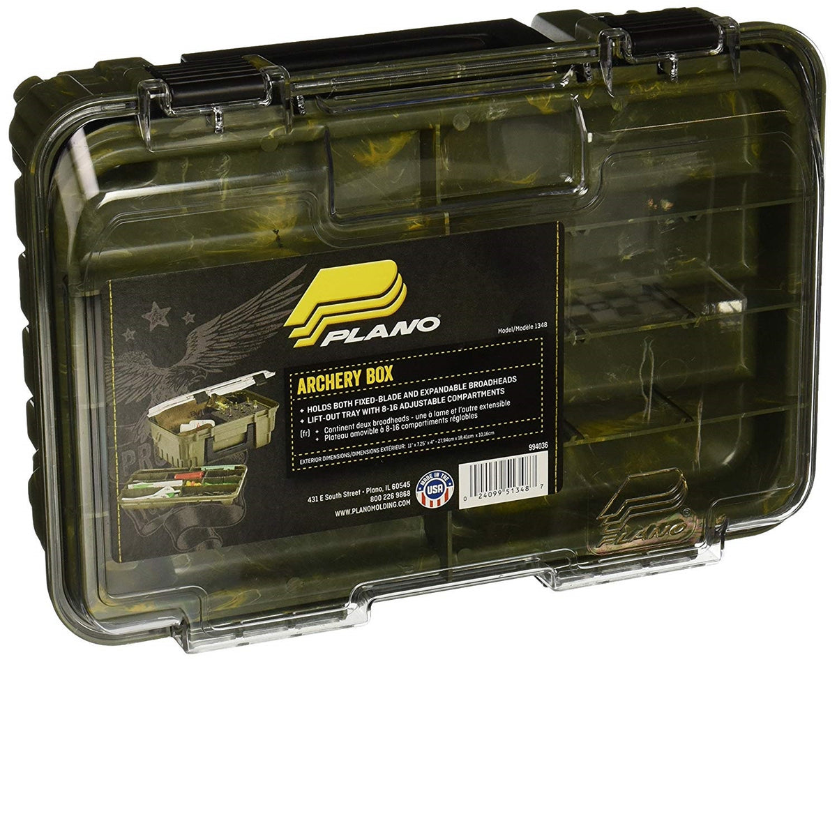 Plano Easy-View Archery Accessories Box