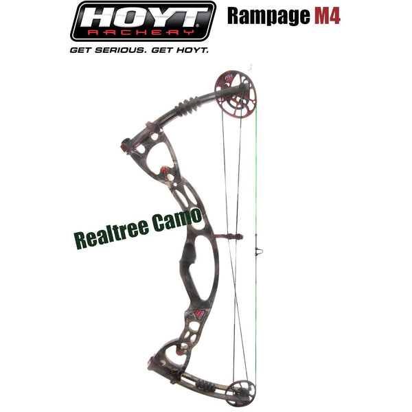 Hoyt Rampage R/H M4 30-40 lbs 25-27 inch draw Realtree camo