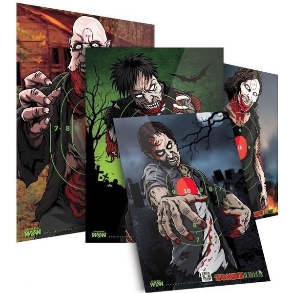 Win & Win Zombie Target Faces
