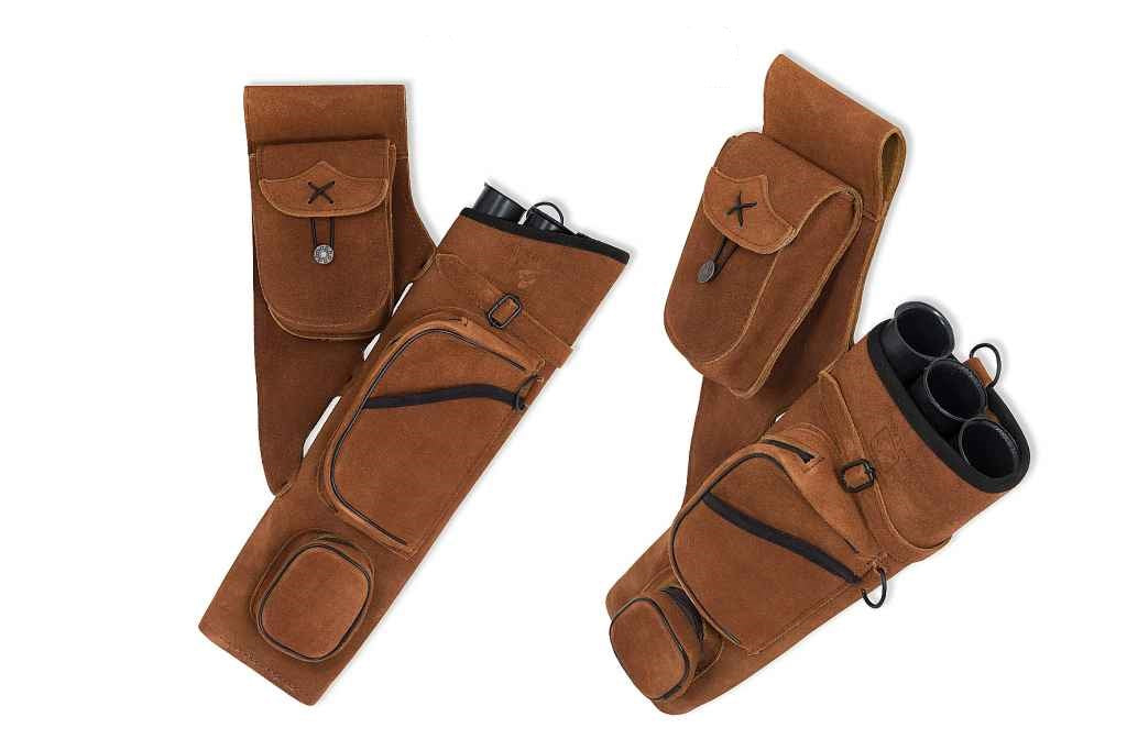 Buck Trail Buckskin Side Quiver