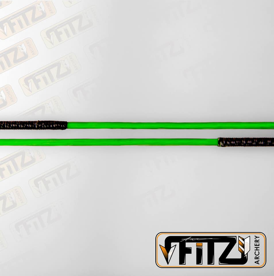 Fitz Archery Recurve Two Colour String 8125G