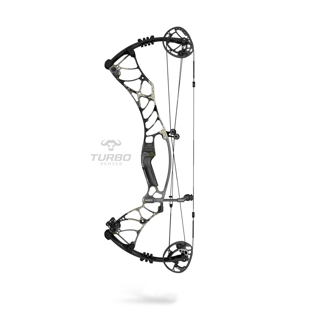 Hoyt Helix Turbo Camo/Blackout (Special Order)