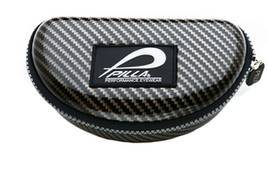 Pilla Clam Shell Case Black Carbon Effect