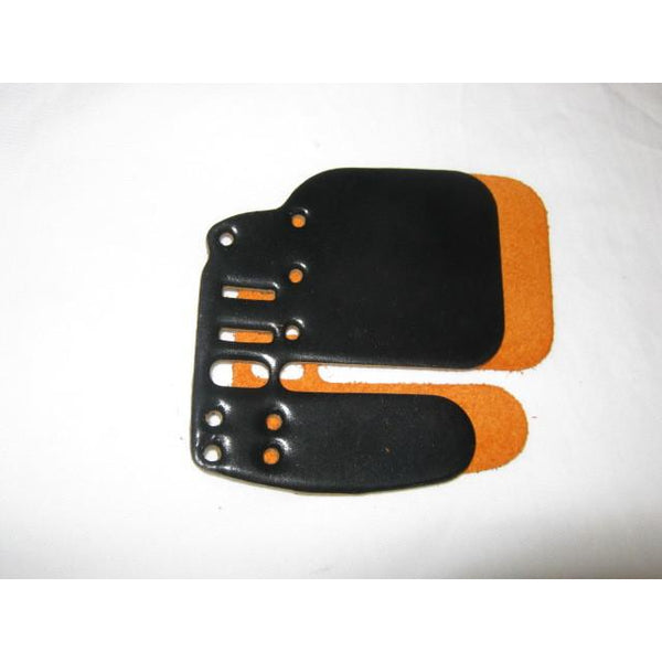 Win & Win EZ R Finger Tab Replacement Cordovan Face