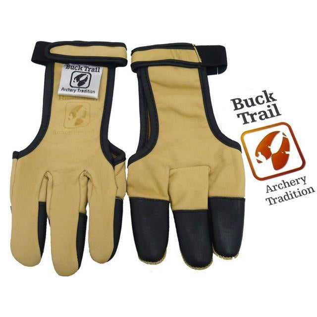 Buck Trail 3 Finger Glove with Black Tips