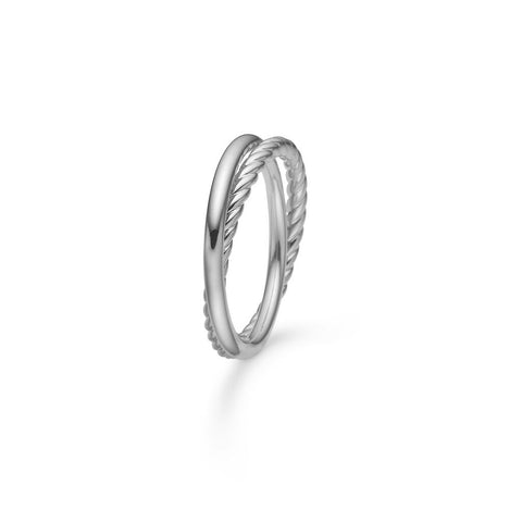 Twist and Shine ring fra Mads Z-2140005