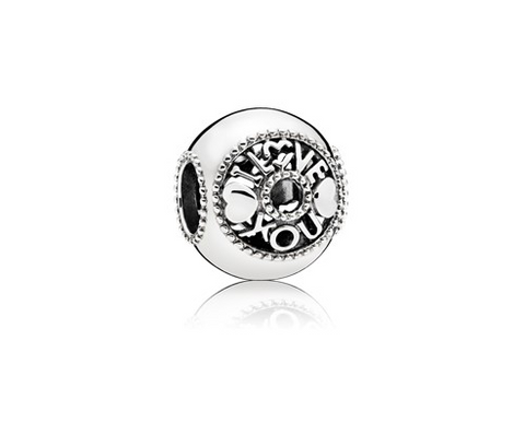 796601 hjerter I love you 796601 Pandora charm charms led vedhæng