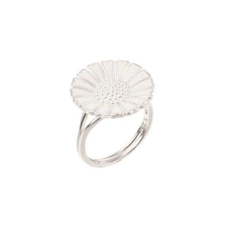 907018-h - Marguerit ring 18 mm fra Lund of Cph.