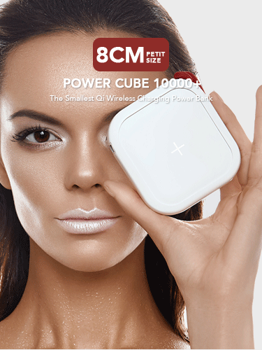 Power Cube 10000w The Smallest Qi Portable Wireless