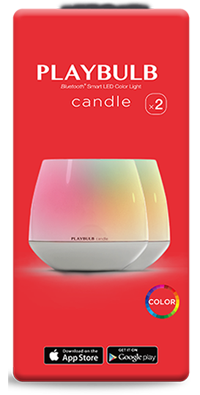 PLAYBULB candle pack of two