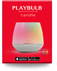 PLAYBULB candle pack of one
