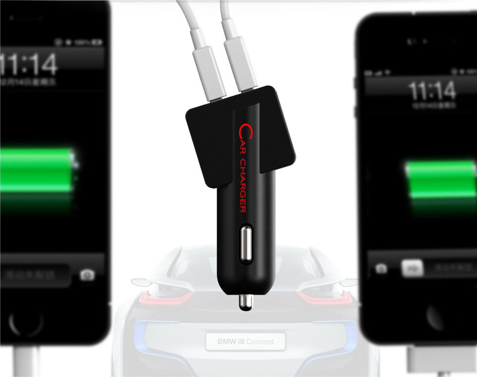 MIPOW T-Plug USB Car Charger (SPC04)