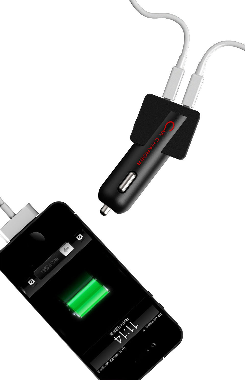 MIPOW T-Plug USB Car Charger (SPC04) Strong Compatibility