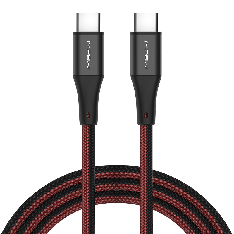 USB-C TO USB-C Nylon Braided Cable - MIPOW