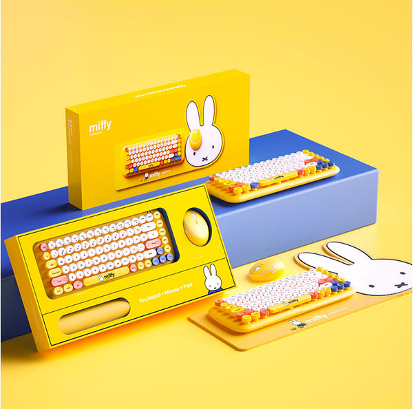 Wireless Keyboard + Mouse + Pad (miffy) - MIPOW