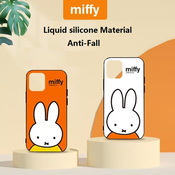 "Hello iPhone 12,  Protection Case (5.4 | 6.1 | 6.7)"" miffy - MIPOW"