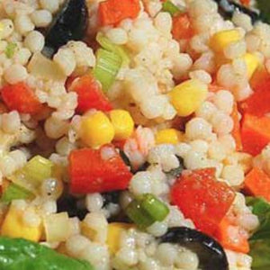 Recipes by Rosalie Gourmet Market-Moroccan Couscous Salad with Red Capsicum-Rosalie Gourmet Market