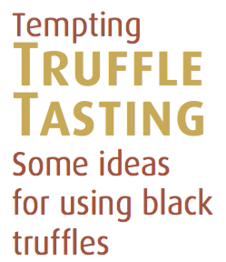 Rosalie Gourmet Market - Blog - Recipe - Truffle Ideas