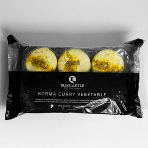 Boscastle Party Pies - Korma Curry Vegetable - pack of 12 (frozen) - Rosalie Gourmet Market