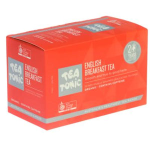 Tea Tonic - English Breakfast Tea Bags (20 bags) - Rosalie Gourmet Market