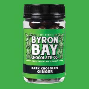 Byron Bay Chocolate Co - Dark Chocolate Ginger - Rosalie Gourmet Market