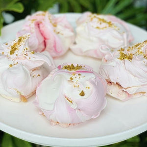 Rosewater & Pistachio Meringues (pack of 6 giftboxed) - Rosalie Gourmet Market