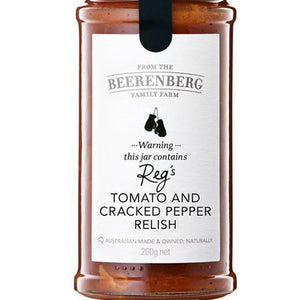 Beerenberg Tomato & Cracked Pepper Relish 265ml - Rosalie Gourmet Market