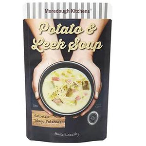Moredough Kitchens - Potato & Leek Soup 500g - Rosalie Gourmet Market