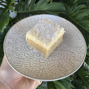 Lemon Coconut Square (Raw) - Rosalie Gourmet Market