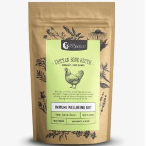 Chicken Bone Broth Powder (Garden Herb) - Nutra Organics 100g - Rosalie Gourmet Market