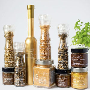 Black & Gold Salt Grinder (A Taste of Paris) - Rosalie Gourmet Market