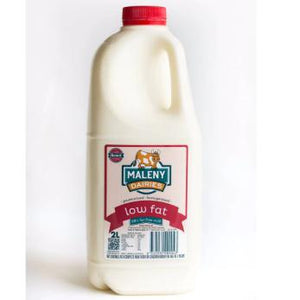 Maleny Milk Low Fat - 2 Litre (Red Top) - Rosalie Gourmet Market