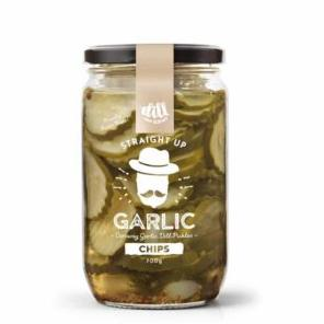 Dillicious Straight Up Garlic Chips - Dill Pickles 700g - Rosalie Gourmet Market