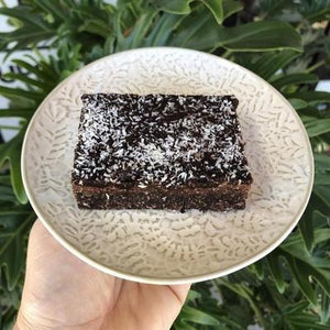 Chocolate Coconut Brownie Slice - Rosalie Gourmet Market