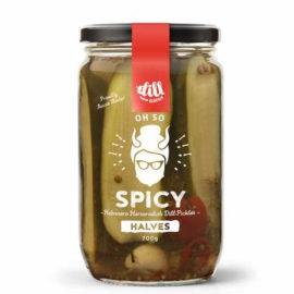 Dillicious Oh So Spicy Halves - Dill Pickles 700g - Rosalie Gourmet Market