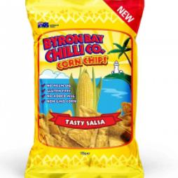Byron Bay Chilli Co - Tasty Salsa Corn Chips 175g - Rosalie Gourmet Market