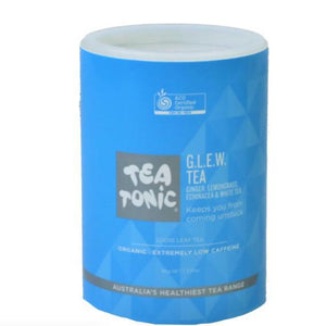 Tea Tonic - GLEW (Gnger, Lemongrass, Echinacea, White Tea) Loose Leaf Tea (90g) - Rosalie Gourmet Market