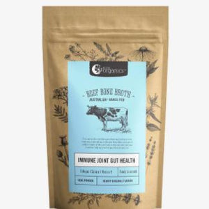 Beef Bone Broth Powder (Hearty Original) - Nutra Organics 100g - Rosalie Gourmet Market