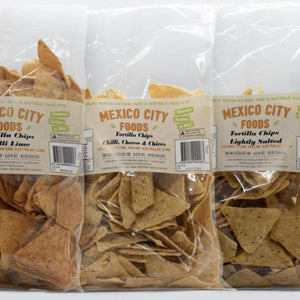 Mexico City Foods - Tortilla Chips - Chilli, Cheese & Chives 300g - Rosalie Gourmet Market