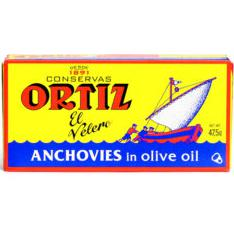 Ortiz Anchovies in Olive Oil 47.5g - Rosalie Gourmet Market