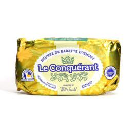 Le Conquerant Butter Unsalted 125g - Rosalie Gourmet Market